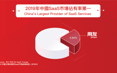 China's Leading SaaS providers by Market Share 2019
